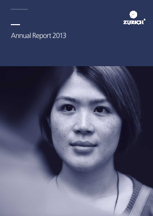 Zurich Insurance Group annual report 2013
