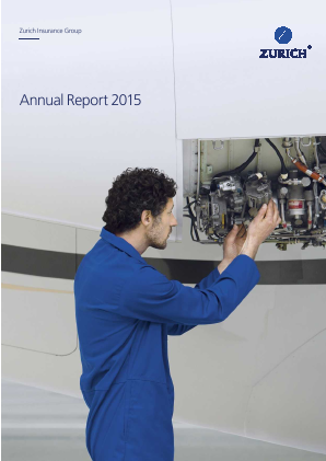 Zurich Insurance Group annual report 2015