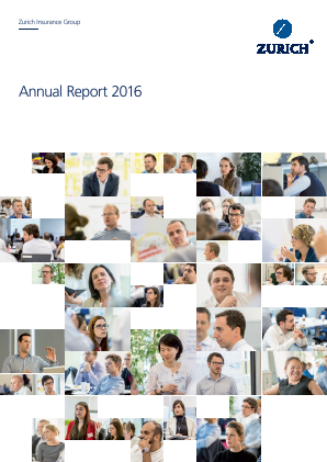 Zurich Insurance Group annual report 2016