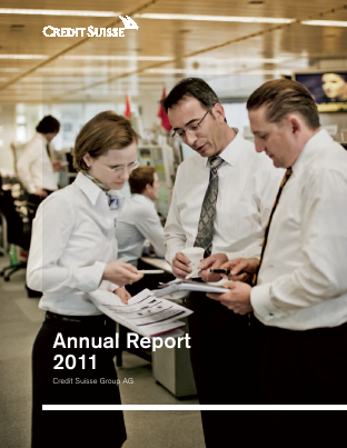 Credit Suisse Group annual report 2011