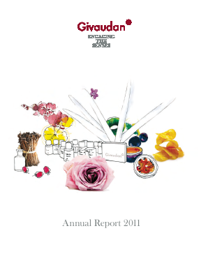 Givaudan annual report 2011