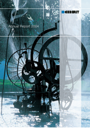 Geberit annual report 2004