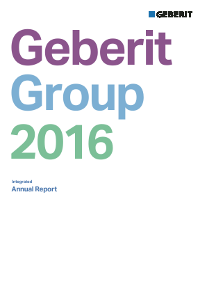 Geberit annual report 2016