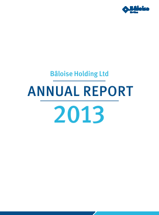 Baloise-Holding annual report 2013