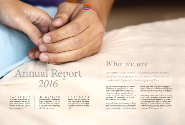 Roche annual report 2016