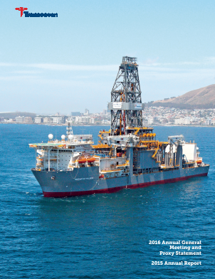 Transocean annual report 2015