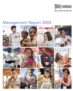 Nestl� annual report 2004