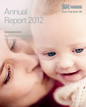 Nestl� annual report 2012