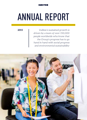 Inditex annual report 2015