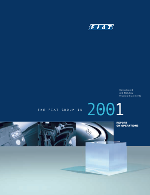 Fiat Chrysler Automobiles annual report 2001
