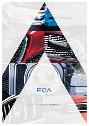 Fiat Chrysler Automobiles annual report 2017