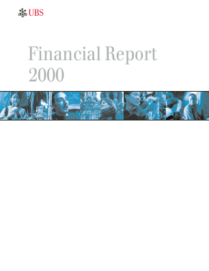 UBS Group annual report 2000