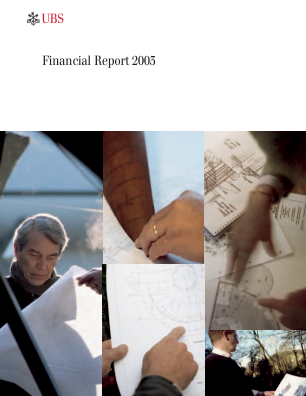 UBS Group annual report 2003