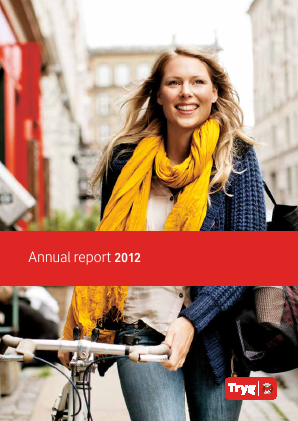 Tryg annual report 2012