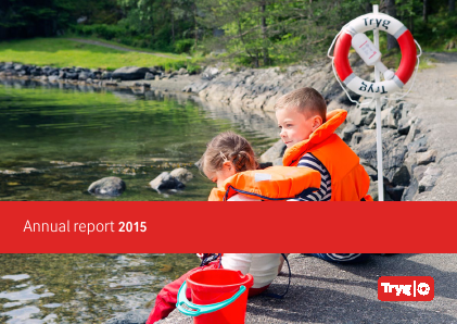 Tryg annual report 2015