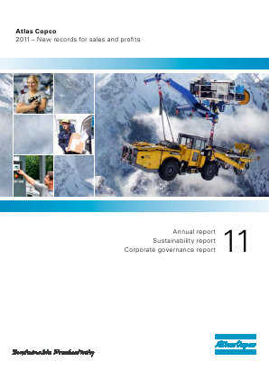 Atlas Copco annual report 2011