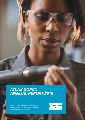 Atlas Copco annual report 2015