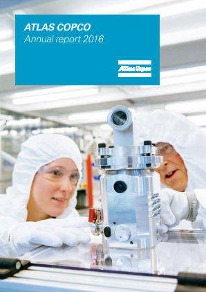 Atlas Copco annual report 2016