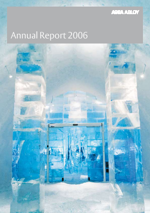 Assa Abloy annual report 2006