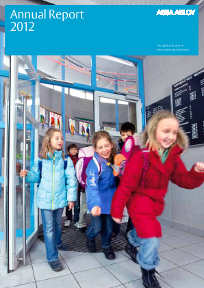 Assa Abloy annual report 2012