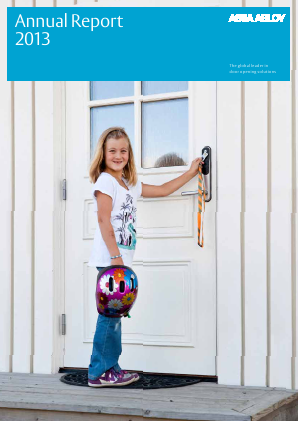 Assa Abloy annual report 2013