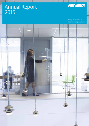 Assa Abloy annual report 2015