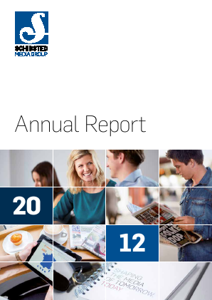 Schibsted annual report 2012