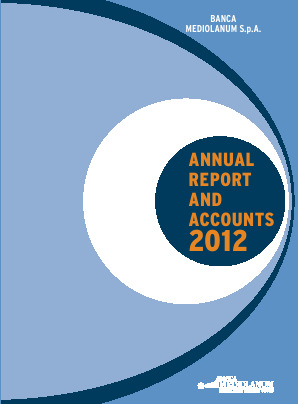 Mediolanum annual report 2012