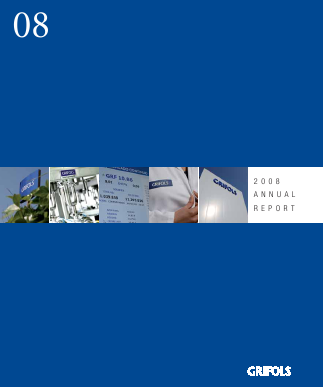 Grifols annual report 2008