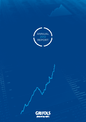 Grifols annual report 2012