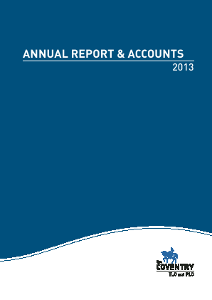 Coventry Building Society annual report 2013