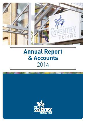 Coventry Building Society annual report 2014