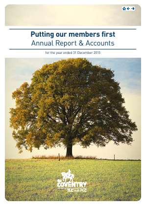 Coventry Building Society annual report 2015