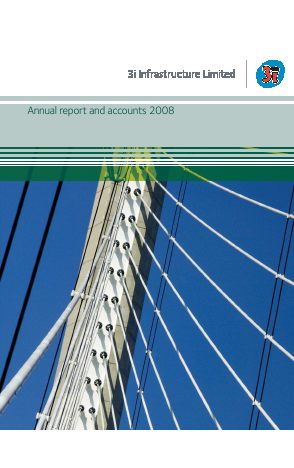 3i Infrastructure Plc annual report 2008