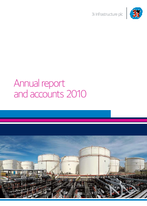 3i Infrastructure Plc annual report 2010