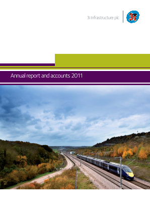 3i Infrastructure Plc annual report 2011