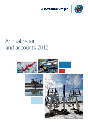 3i Infrastructure Plc annual report 2012