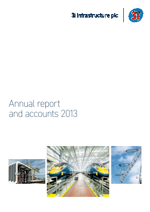 3i Infrastructure Plc annual report 2013