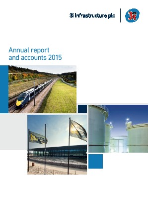 3i Infrastructure Plc annual report 2015
