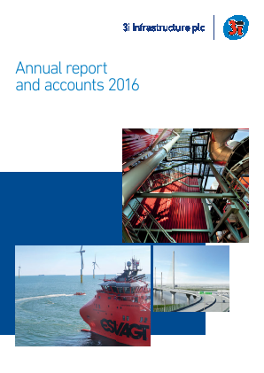 3i Infrastructure Plc annual report 2016
