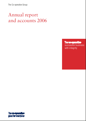 Co-operative Group annual report 2006