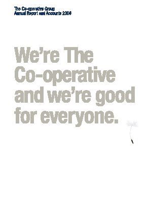 Co-operative Group annual report 2008