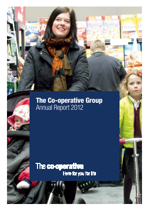 Co-operative Group annual report 2012