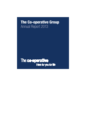 Co-operative Group annual report 2013