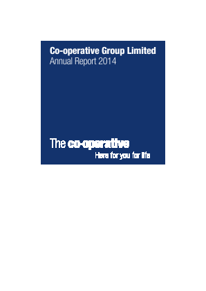 Co-operative Group annual report 2014