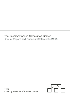 Housing Finance Corp annual report 2011