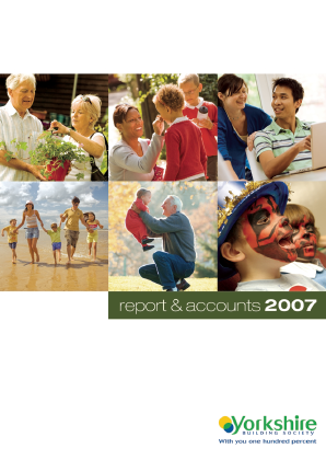 Yorkshire Building Society annual report 2007