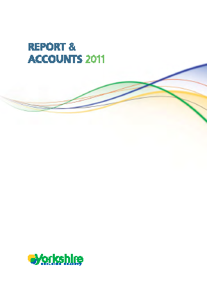Yorkshire Building Society annual report 2011