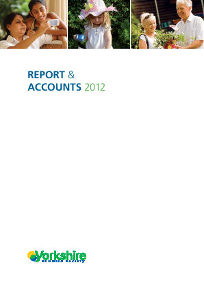 Yorkshire Building Society annual report 2012