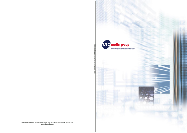 7Digital Group Plc annual report 2001